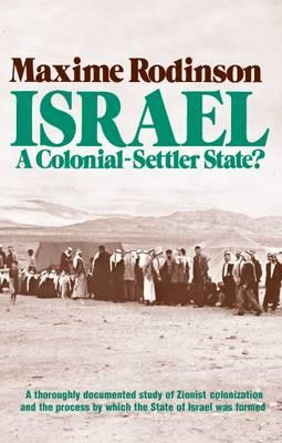 Israel By Rodinson, Maxime